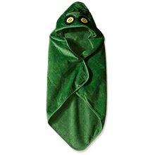 John Deere Baby Boys Tractor Hooded Towel, Green, One Size