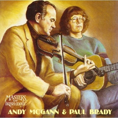 Andy Mcgann and Paul Brady - Its a Hard Road to Travel [CD]