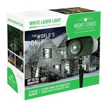 Viatek Consumer Products 239086 Night Stars Laser Lights, White