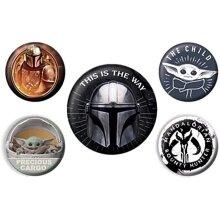 Star Wars Badge Set (Pack of 5)