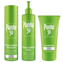 Plantur 39 Phyto-Caffeine Shampoo and Conditioner for Fine and Brittle Hair + Phyto Caffeine Tonic