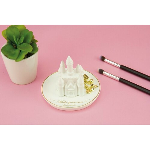 Disney Castle Trinket Tray - Jewellery Dish Key Rings Table Holder
