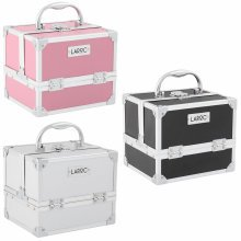 LaRoc Professional Aluminium Makeup Storage Box | Portable Vanity Case