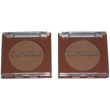 Clinique 2 x True Bronze Pressed Powder Bronzer 02 Sunkissed 3.3g Travel size