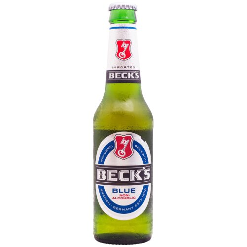 Becks Blue Alcohol Free Beer - 24x275ml
