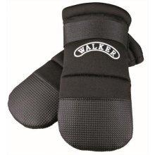 Walker Care Protective Boots, M, 2 Pcs., Black - Trixie Boots Dog Medium Paw -  trixie walker care protective boots dog medium paw shoe