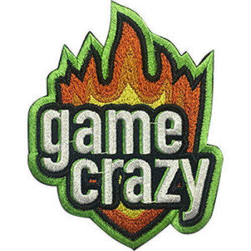 Patch - Video Games - Game Crazy Icon-On p-dsx-4710