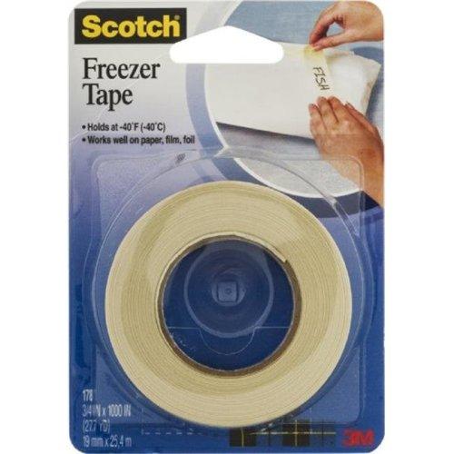 Merchandise 65003953 Scotch Freezer Tape, 0.75 x 1000 in.