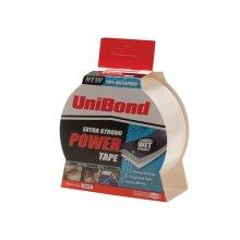 Unibond 1668019 Powertape Black 50mm x 25m