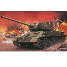 Dragon D9158 Chinese Volunteer T34/85 1:35 Plastic Model Tank Kit