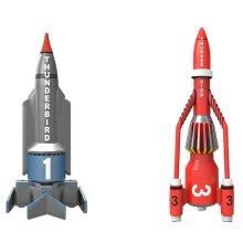 Corgi Thunderbirds TB1 and TB3