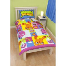 Moshi Monsters Reversible Duvet Set