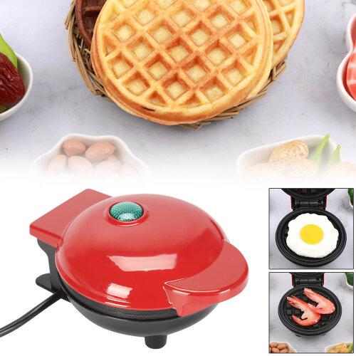 Global Gourmet Waffle Maker Machine Round Waffle Mix Mini Kitchen Supplies