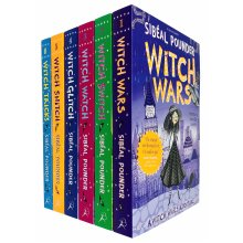 Witch Wars Adventures Series 6 Books Collection Set by Sibéal Pounder