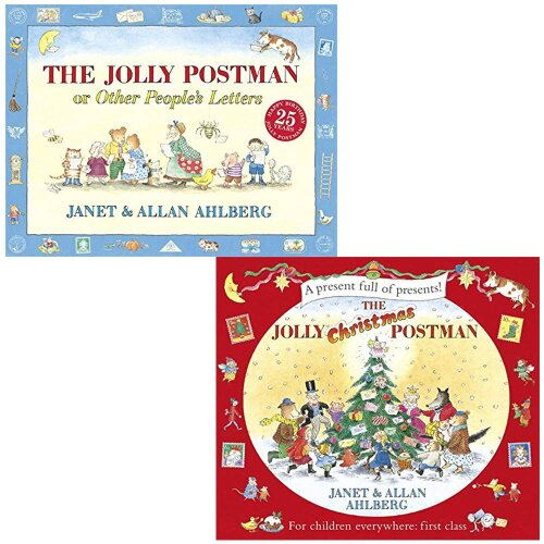 The Jolly Postman & The Jolly Christmas Postman 2 Books Collection Set
