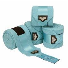 LeMieux Loire Satin Polo Bandages - Azure