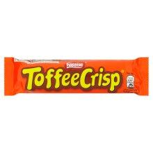 Nestle Toffee Crisp Chocolate Bars - 24x38g