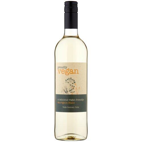 Proudly Vegan Sauvignon Blanc White Wine - 6x75cl