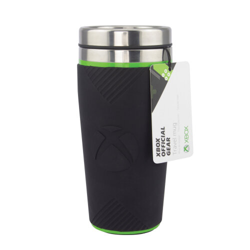 XBox Travel Mug Gamers Reusable Cup Coffee Leak Proof 16oz Insulated 450ml
