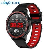 Smart Watch Men Waterproof  ECG Blood Pressure  Smart Watches(Red)