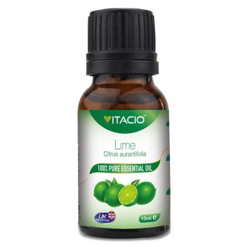 Pure & Natural Lime Essential Oil 10ml VitacioUK