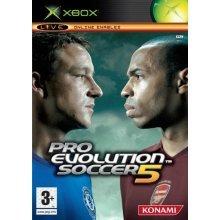 Pro Evolution Soccer 5 (Xbox) - Used