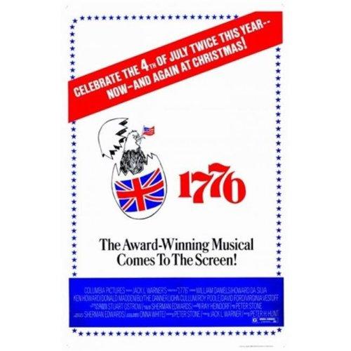 Seventeen-Seventy-Six 1776 Movie Poster - 11 x 17 in.
