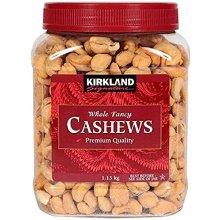 Kirkland Signature Fancy Cashew Nuts, 1.13 kg