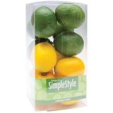 Design It Simple Decorative Fruit 13/Pkg-Mini Lemons & Limes