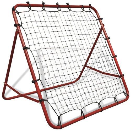 vidaXL Adjustable Football Rebounder – 100x100cm | Target Training Net