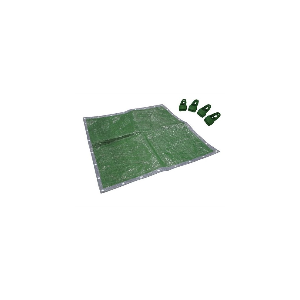 27m 35m 8ft Polyethylene Woven Tarpaulin 8ft x 12ft Toolzone 2.7m x 3.5m