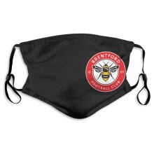 Brentford Football Team Face Masks for Adult Youth Reusable