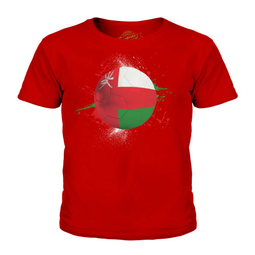 Candymix - Oman Football - Unisex Kid's T-Shirt