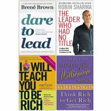 Dare to Lead, Leader, I Will Teach, Secrets 4 Books Collection Set