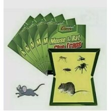10x RAT MOUSE GLUE TRAPS PEST CONTROL HOME OFFICE STICKY TRAP BOARD