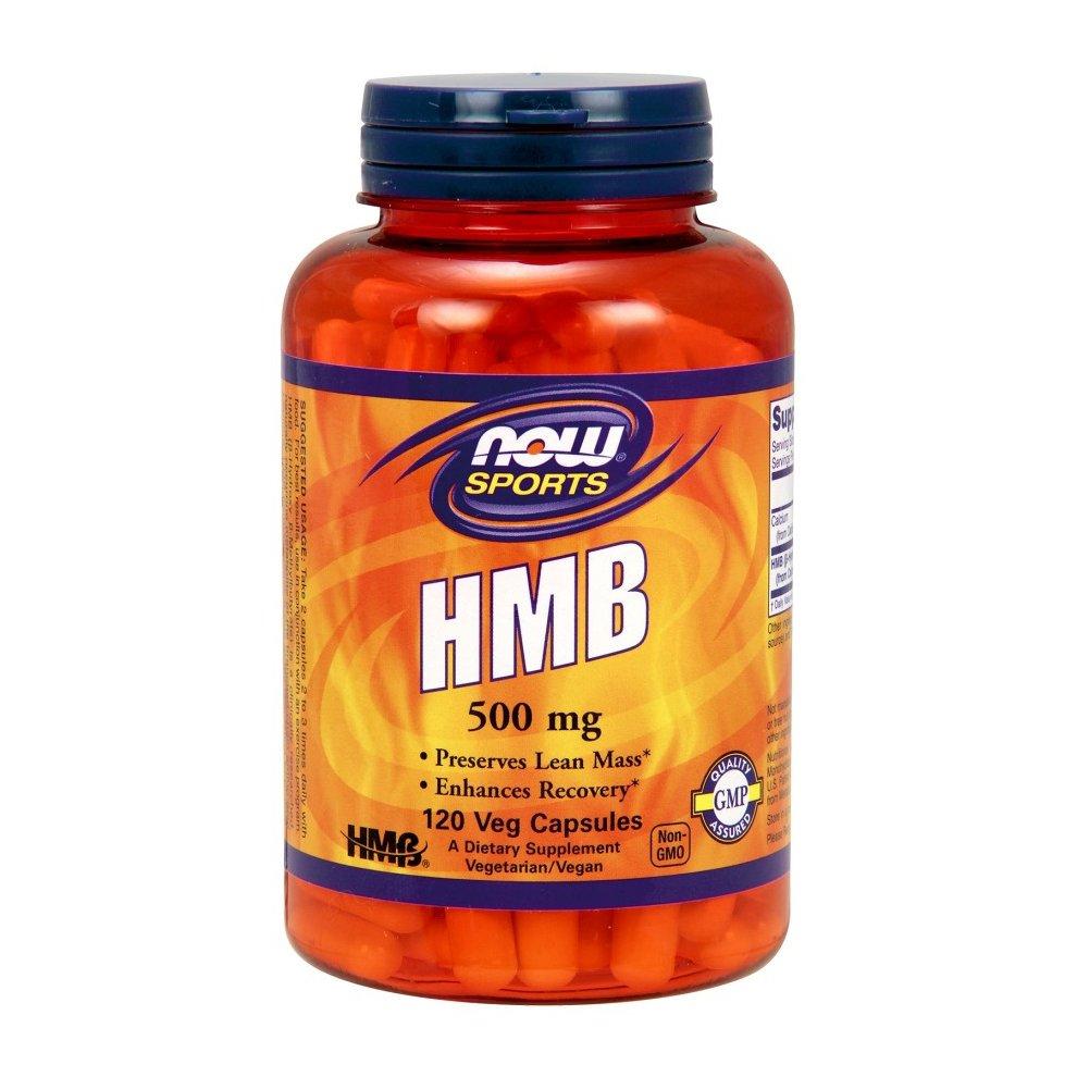 NOW Foods HMB, 120 vcaps(500mg)