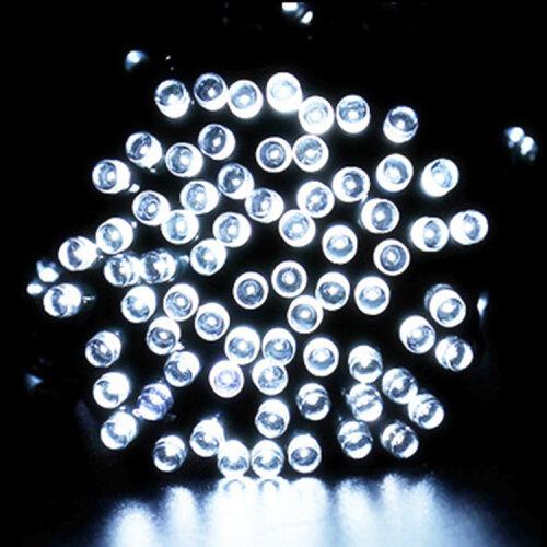 Deluxe Solar LED Fairy Lights |  Bright White Solar String Lights