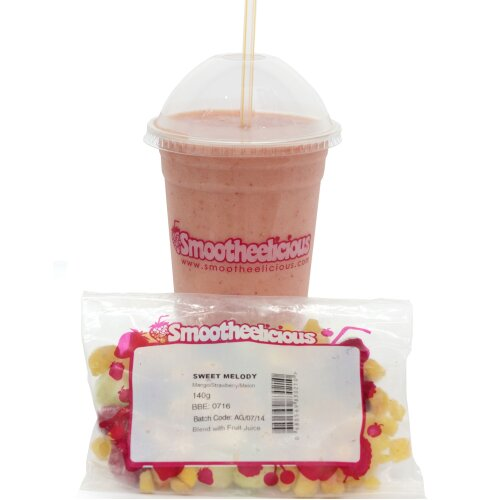 Smootheelicious Frozen Sweet Melody Smoothie Packs - 30x140g