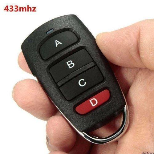 Universal Garage Door Remote Control Cloning 4 Button 433mhz Remote Control