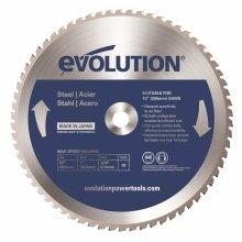 Evolution Mild Steel Carbide-Tipped Blade, 255 mm