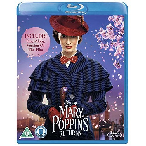 Mary Poppins Returns Blu-Ray [2019]