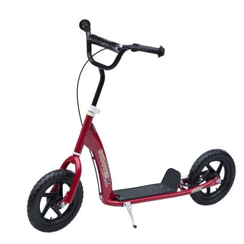 HOMCOM 4 Colours Push Scooter Teen Kids Children Stunt Bike Ride On
