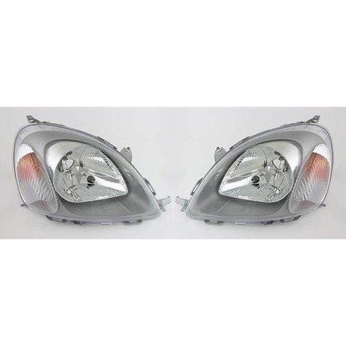 Toyota Yaris Mk1 1999-7/2003 Ichikoh Type Headlights Headlamps 1 Pair O/S & N/S