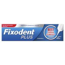 Fixodent Plus Dual Premium Food Seal Denture Adhesive Cream, 10x Stronger, 40g