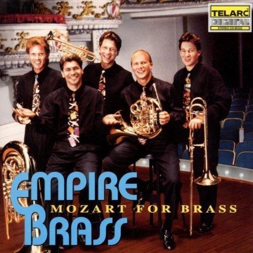 Olfgang Amadeus Mozart - Mozart for Brass [CD]