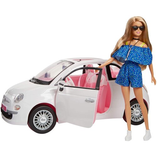 Barbie Fiat Car and Doll Exclusive