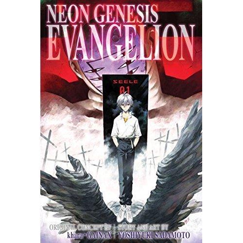 NEON GENESIS EVANGELION 3IN1 TP VOL 04 (C: 1-0-1) (Neon Genesis Evangelion 3-in-1 Edition)