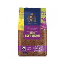 3 x 500g Tate & Lyle Dark Brown Soft Sugar - 3 x 500g