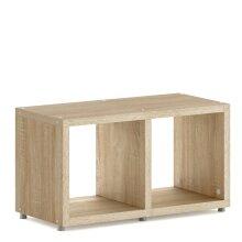 2 Cube Shelf, Storage Cube Shelves, 400x740x330mm