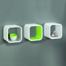 Wall Cube Shelf, Cube Shelves - 225x225x200mm